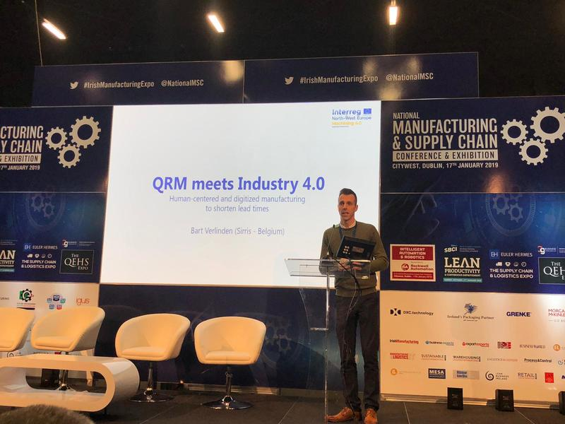 Bart speaking at Manufacturing and Supply Chain Event